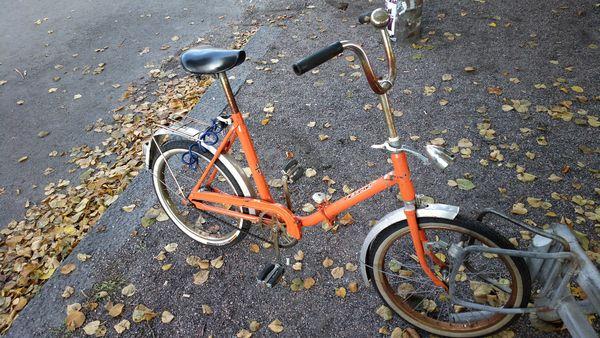 West German Folding Bike