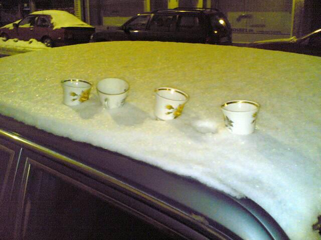Fri 25/02/2005 19:21<br /> on a car roof